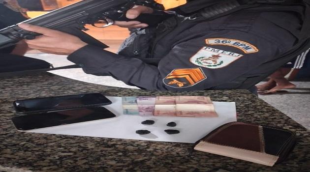 Polícia Militar apreende menor em Itaocara RJ